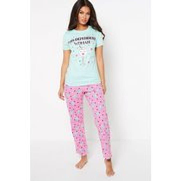 Gin Dependant Woman Pyjamas ( All Sizes Available )