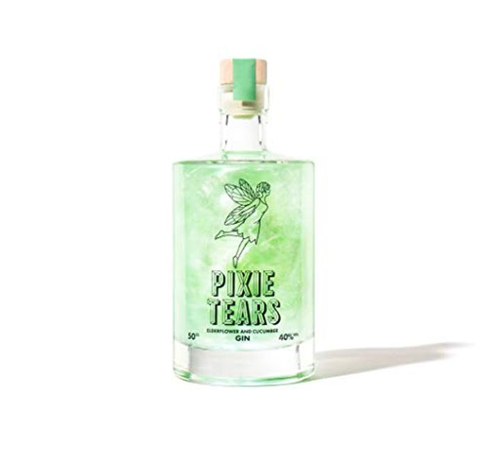 Firebox Pixie Tears Gin - Elderflower Flavoured with Cucumber Infusion (50cl)