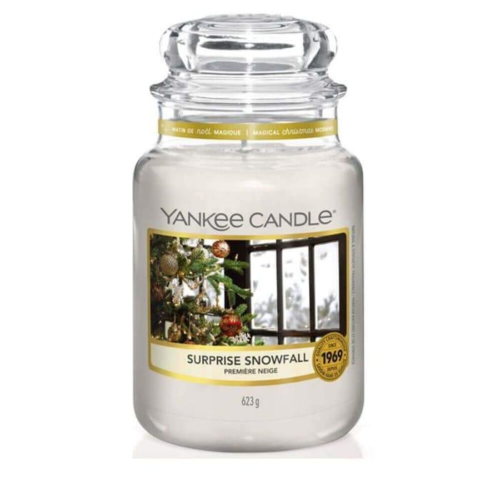 Surprise Snowfall Large Jar Yankee Candle
