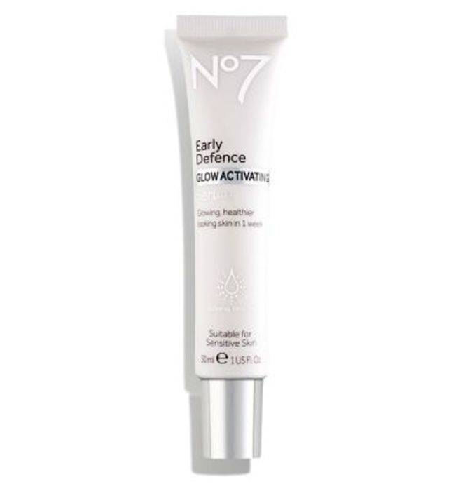 No7 Early Defence GLOW ACTIVATING Serum 30ml