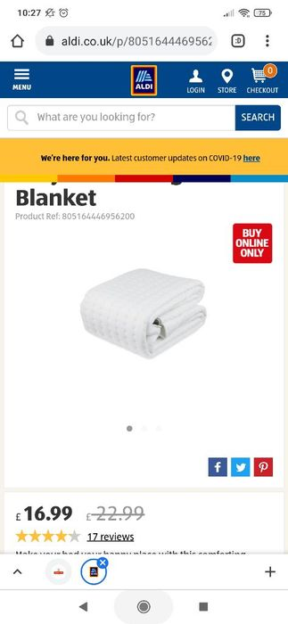 Easy Home King Electric Blanket