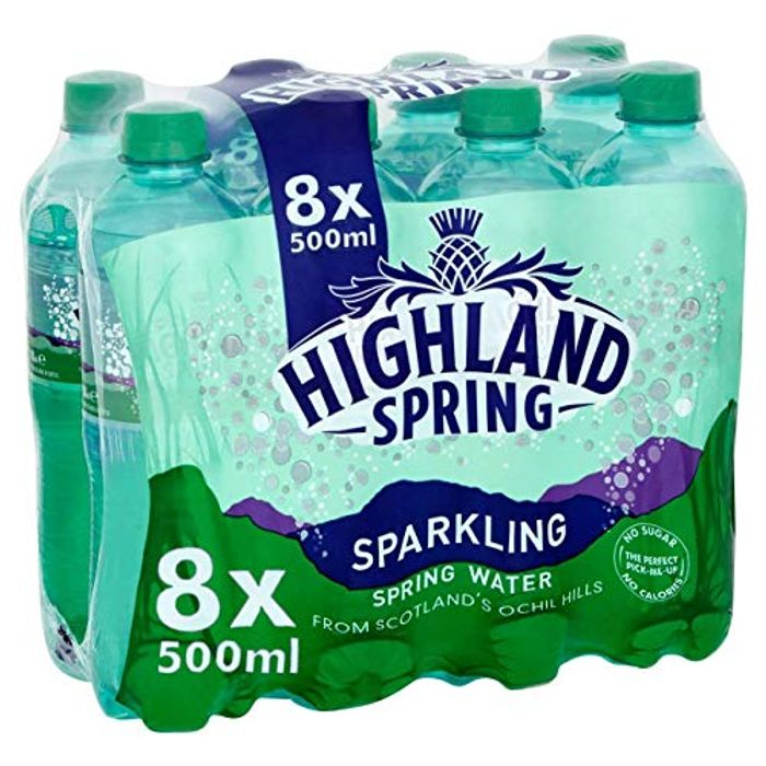 Highland Spring Sparkling Water, 8 X 500ml Visit the Highland Spring Store