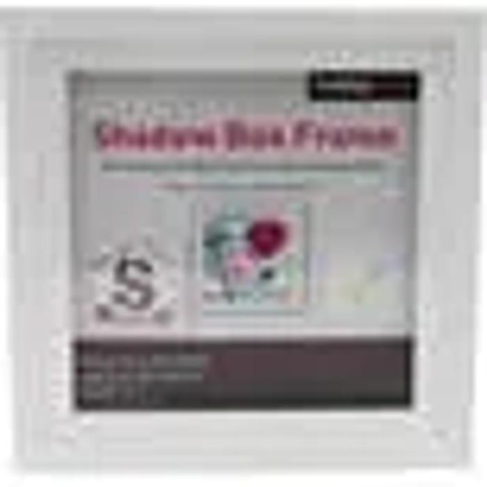 White Shadow Box Frame 25cm X 25cm