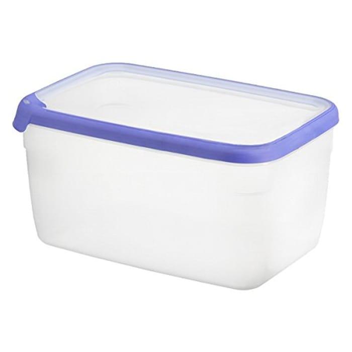 Curver Food Container, Transparent/Blue, 7 Litre