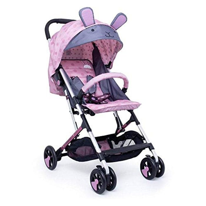 Cosatto Woosh 2 Pushchair Lightweight Stroller from Birth (Bunny Buddy)