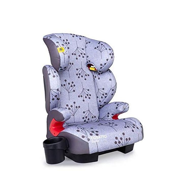 Cosatto Sumo Child Car Seat - Group 2/3, 4-12 Years, ISOFIT, (Hedgerow)