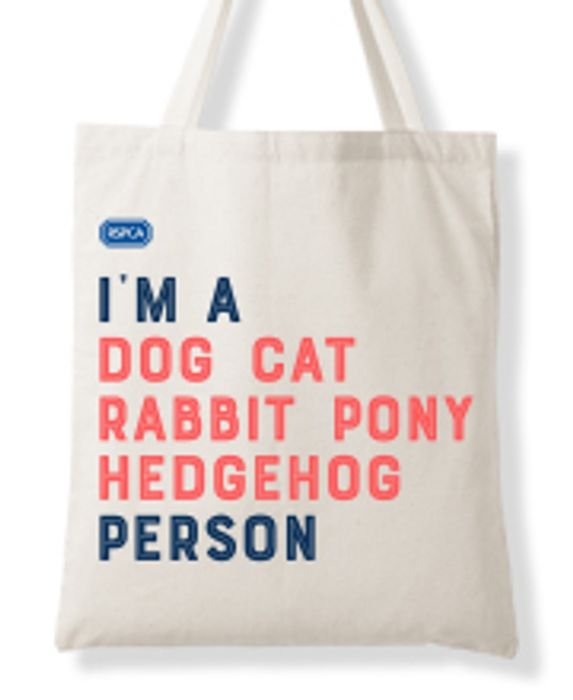 Request Your FREE RSPCA Tote Bag Today!