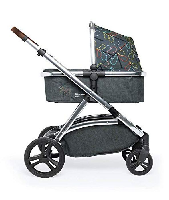 Cosatto Wow XL 3-in-1 Pram/Pushchair from Birth with Tandem Mode, Buggy Board