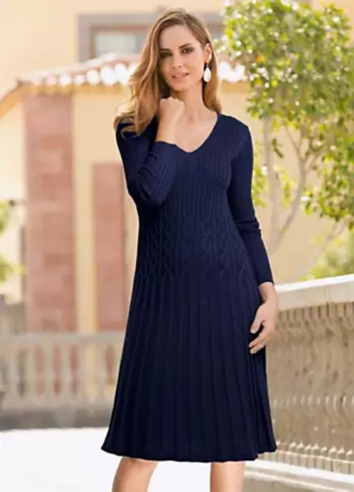 Together Cable Knit Dress