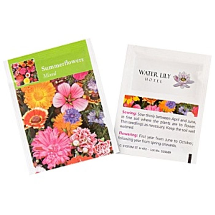 Free Promotional Seed Packets - Summer Flowers