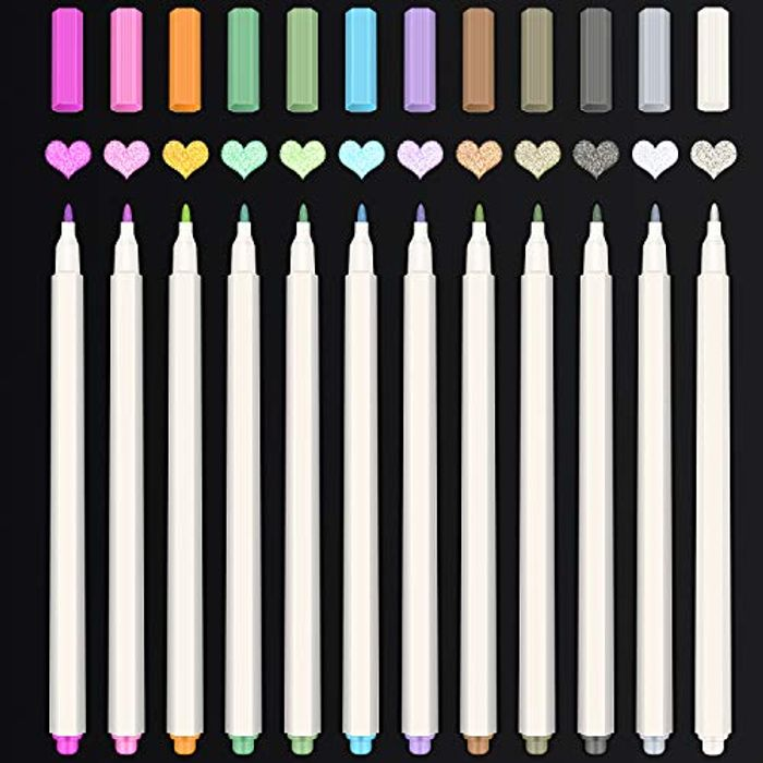 12 Water Colour Markers with Voucher