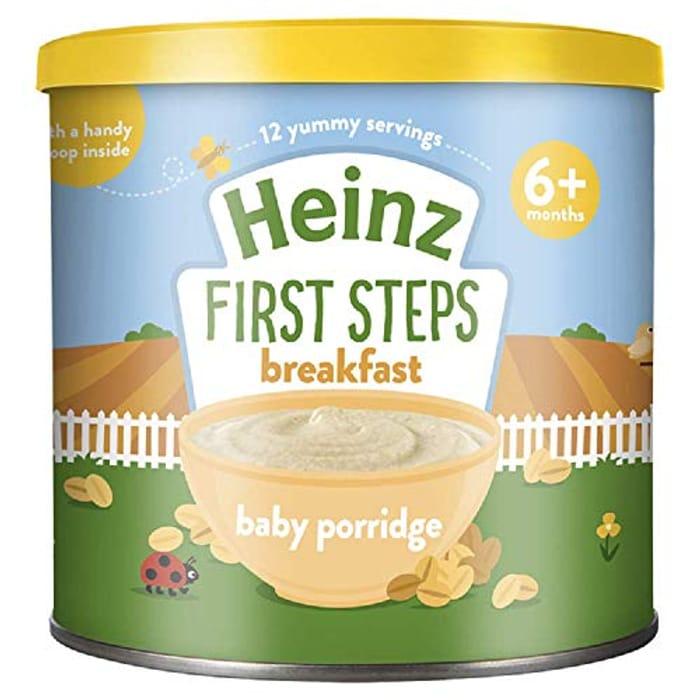 Heinz First Steps Breakfast Porridge Oats