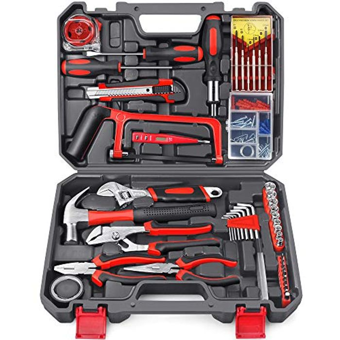 Deal Stack! 108pcs DIY General Household Hand Tool Kit