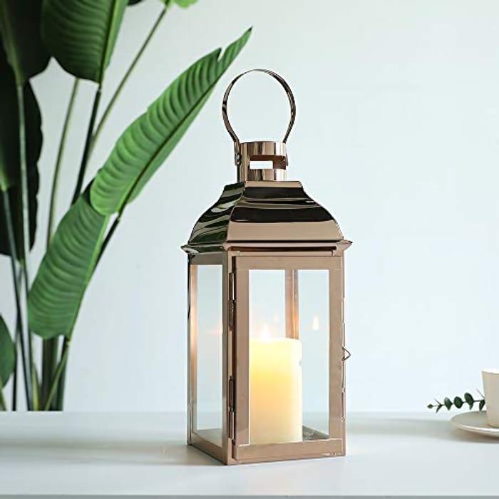 Stainless Steel Decorative Lantern