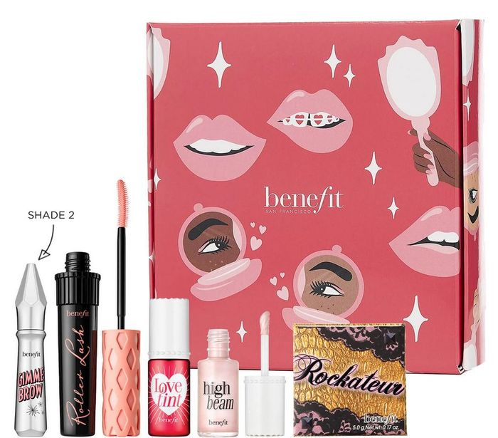 Benefit Rock, Roll & Glow! Full Face Kit (Various Shades) worth £103