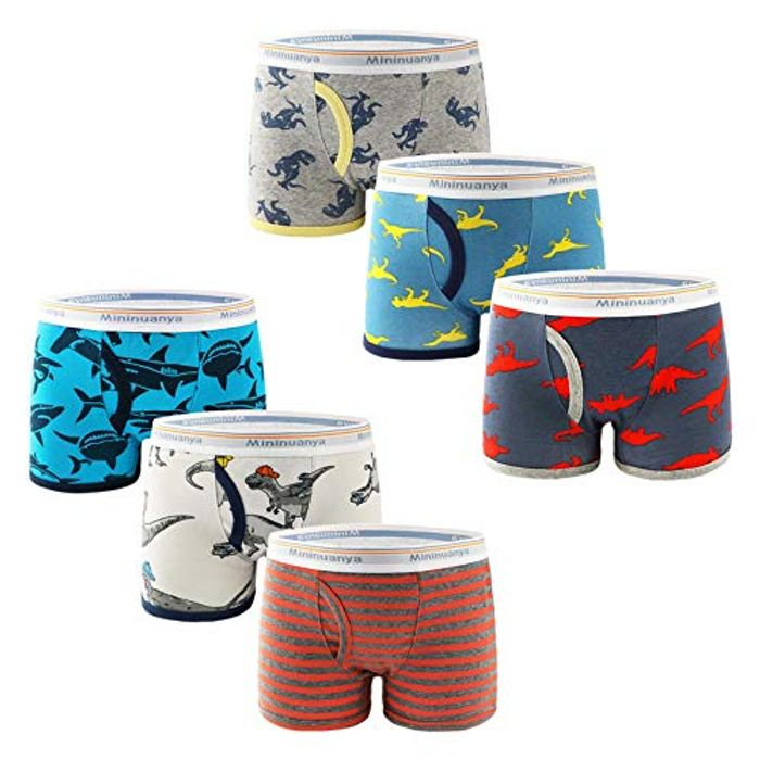 50% off Childrens Boxers