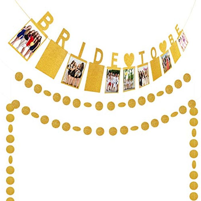 Be Quick Bride to Be Photo Banner Use Voucher