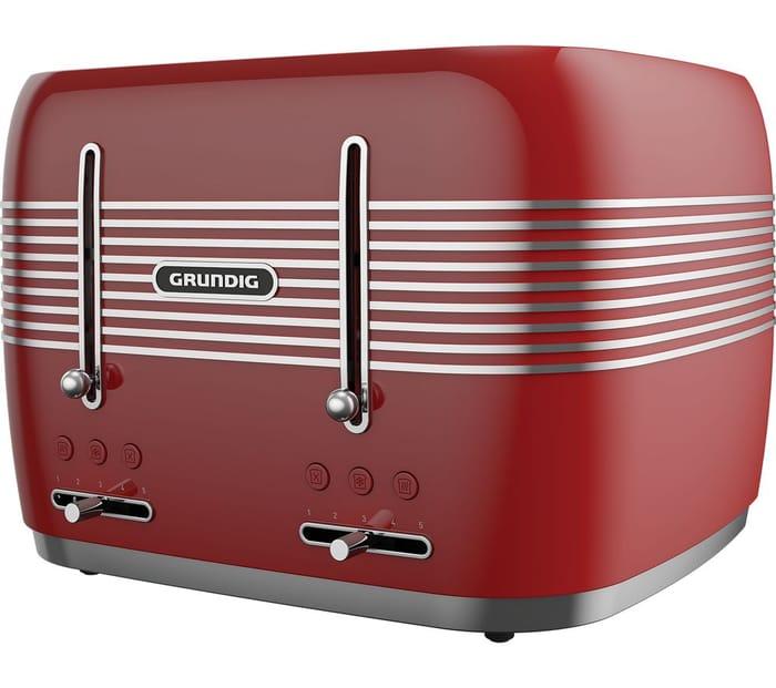 GRUNDIGTA7870R 4-Slice Toaster