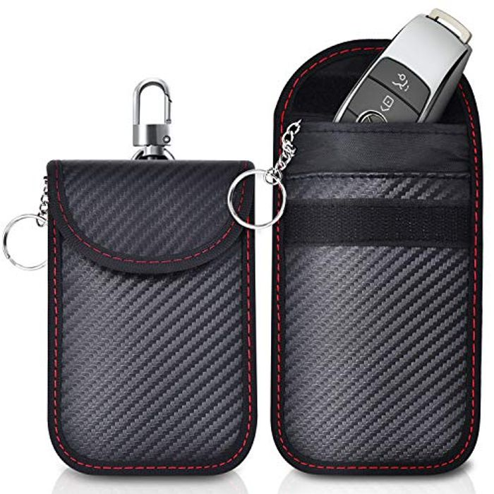 2 Pack Faraday Pouch,Anti-Theft Faraday Bag