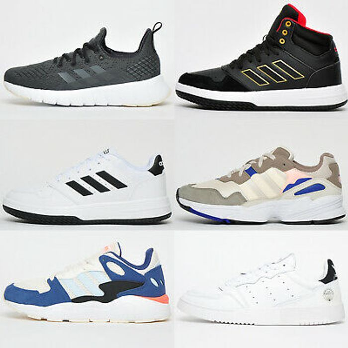 HALF PRICE Adidas Mens Casual Originals Running Trainers from £24.99 FREE P&P