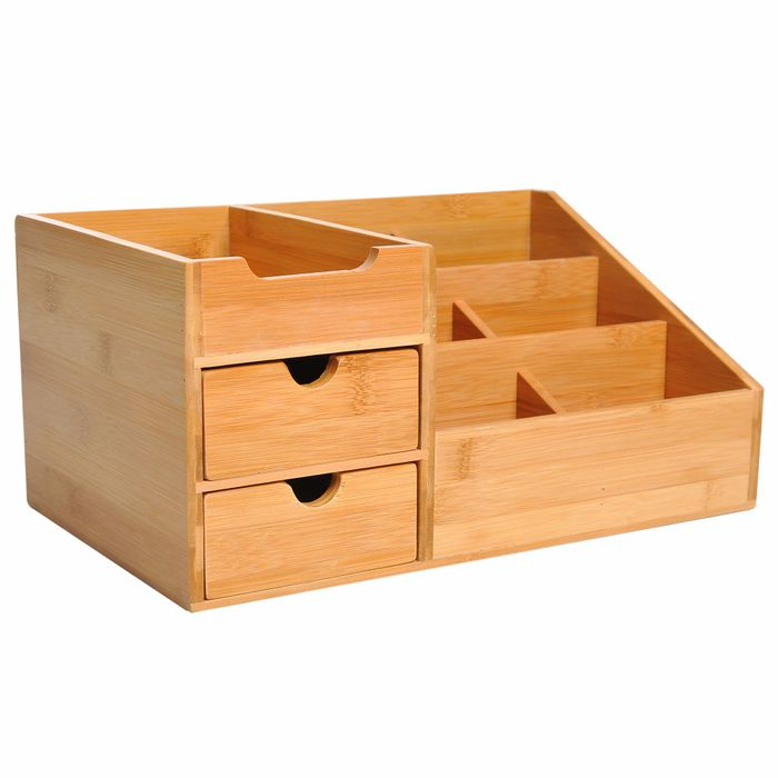 Bamboo Desktop Organiser
