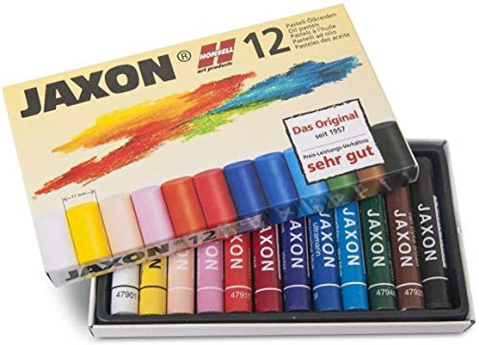 Pack of 12 Oil Pastel ( a Great Edition to a Xmas/ birthday Craft Box )