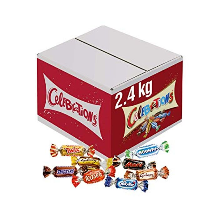 Celebrations Chocolate Bulk Box,£14.32 with Subscribe and save , 2.4 Kilos