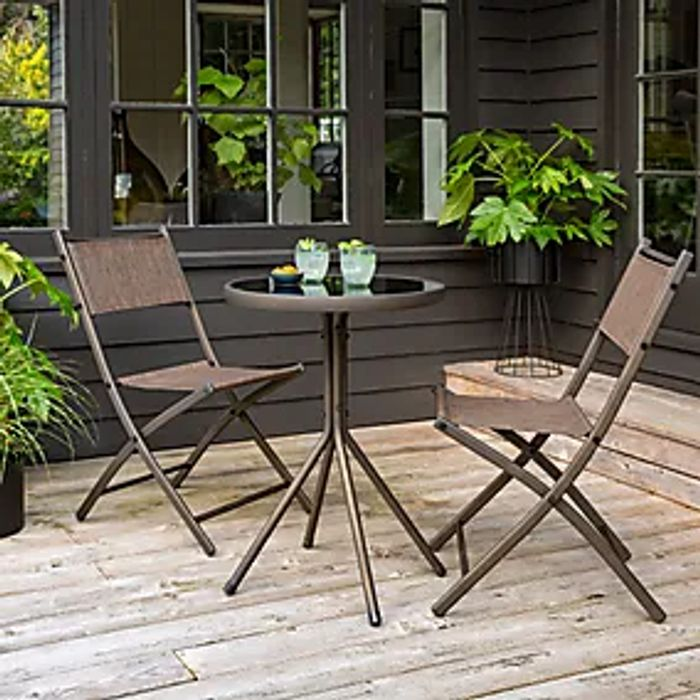 Helsinki 2 Seat Bistro Set ( Eat out under the Stars or Afternoon Tea)