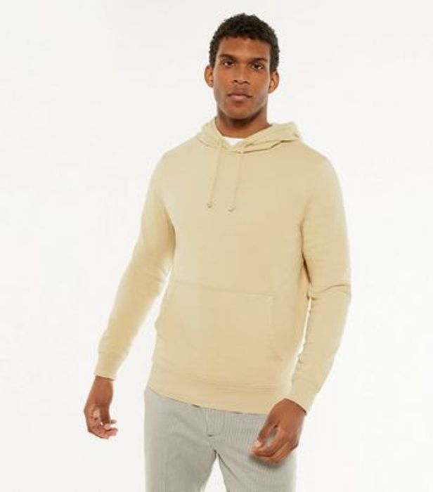 Mens Stone Jersey Pocket Front Hoodie = £18.99 Each or 2 for £32.00 at Newlook