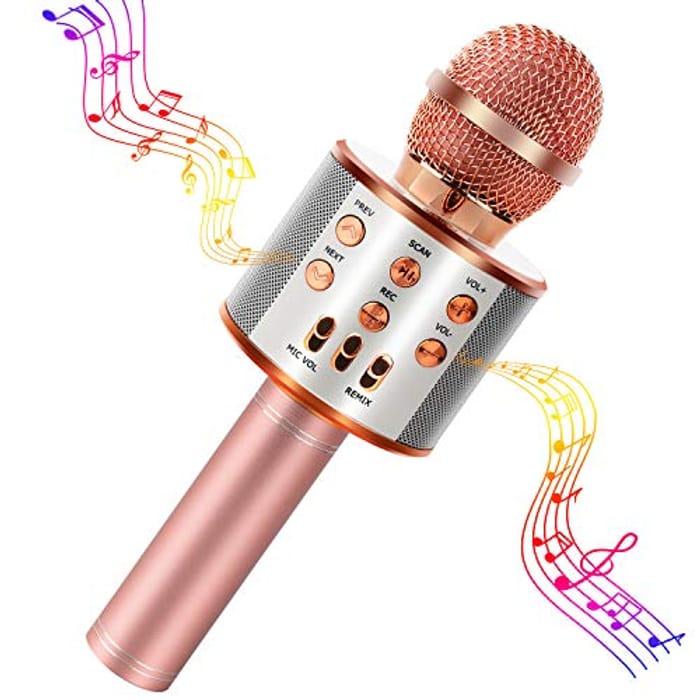 Wireless Bluetooth Microphone Portable
