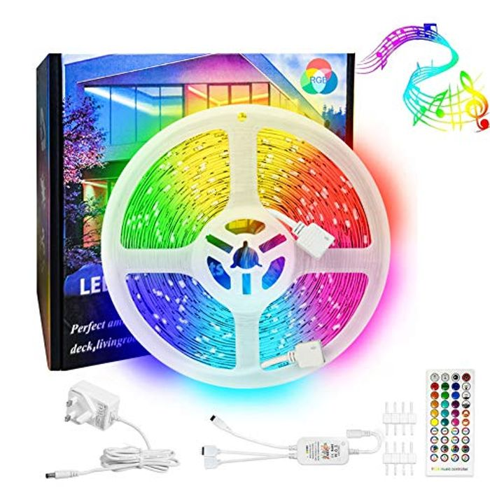 LED Strip Lights 10M Roll RGB with Remote