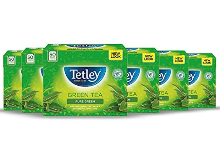 Tetley Green Tea 6 Packs