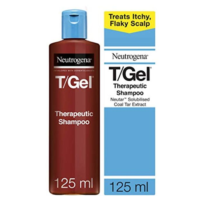 T/Gel Shampoo Treatment for Scalp Psoriasis, Itching Scalp and Dandruff