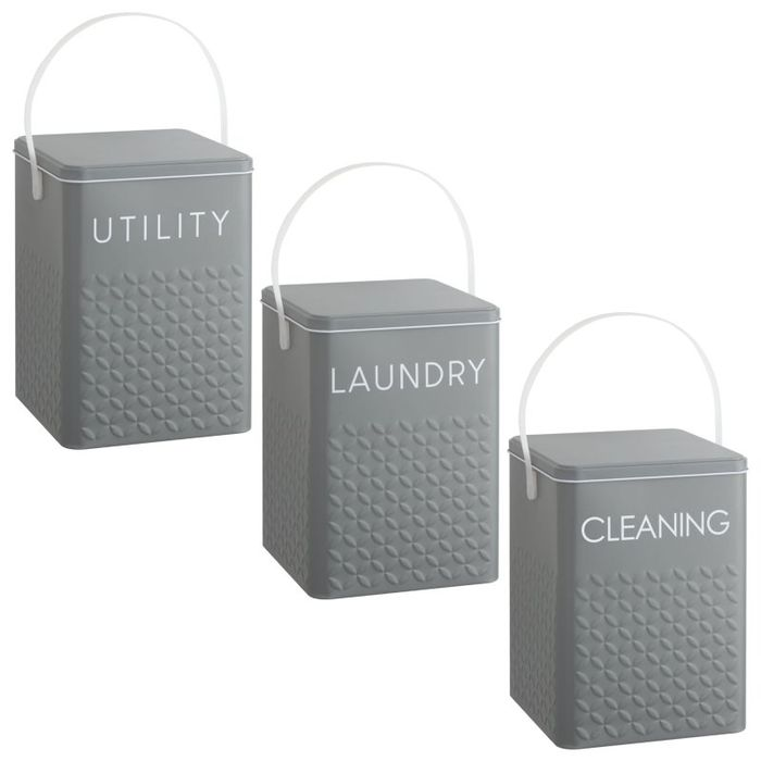 Laundry Storage Tin