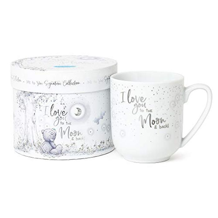 Love You to the Moon & Back Gift Boxed Tatty Teddy Mug