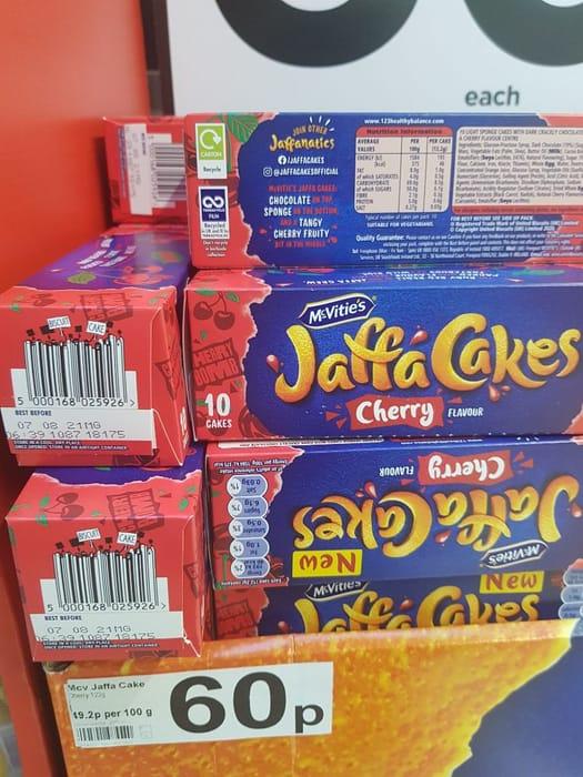 McVitie's Jaffa Cakes Cherry 150g