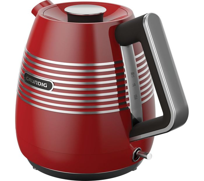 GRUNDIG WK7850R Jug Kettle - Red. FREE DELIVERY