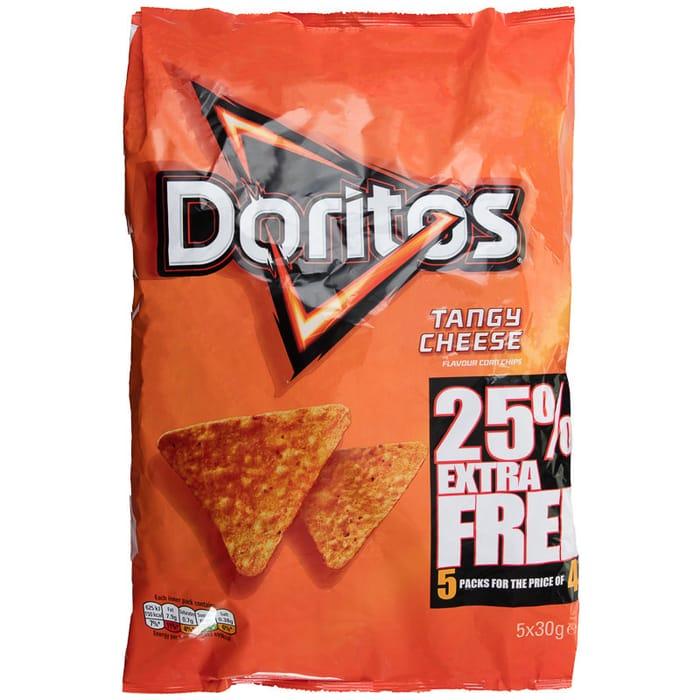 Doritos Tangy Cheese 5pk