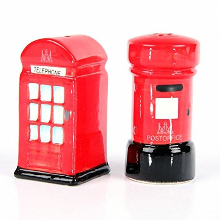 Telephone and Letterbox Salt and Pepper Set