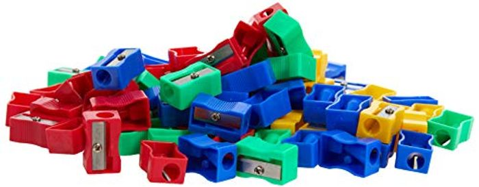 100 Pencil Sharpeners - Free Prime Delivery