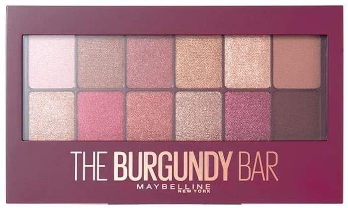 SAVE £5 - Maybelline Burgundy Bar Palette 9.6g
