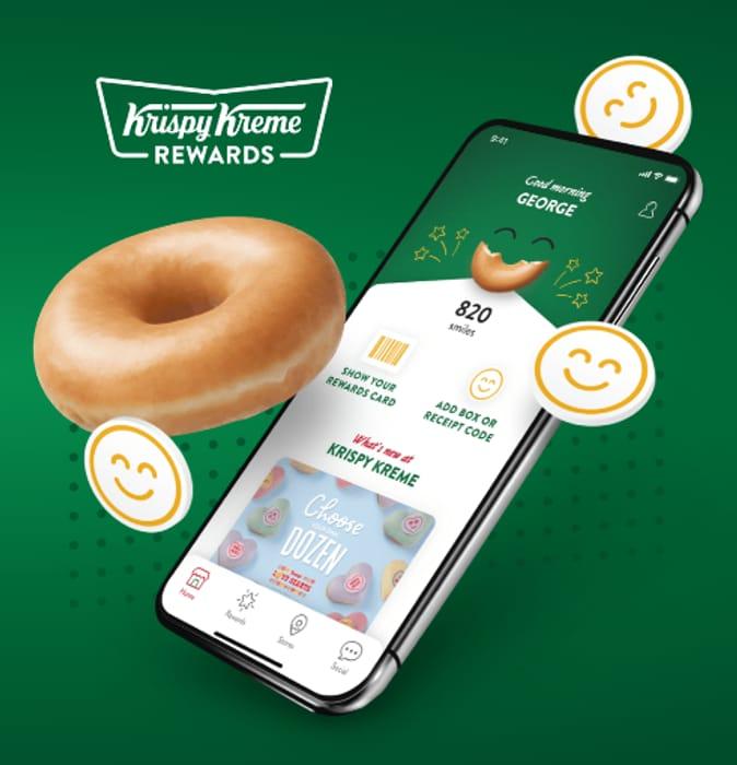 FREE Doughnut for Joining Krispy Kreme Rewards