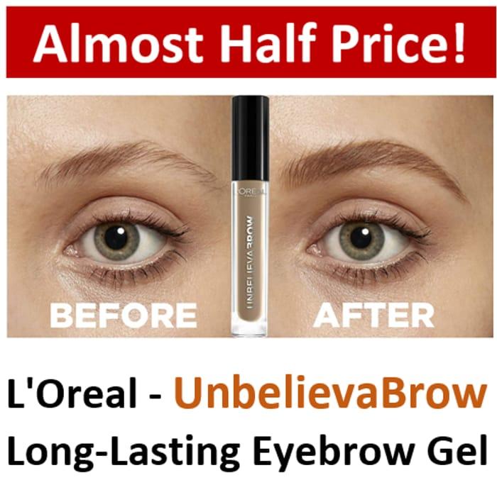 L'Oreal Paris - UnbelievaBrow - Long-Lasting Eyebrow Gel