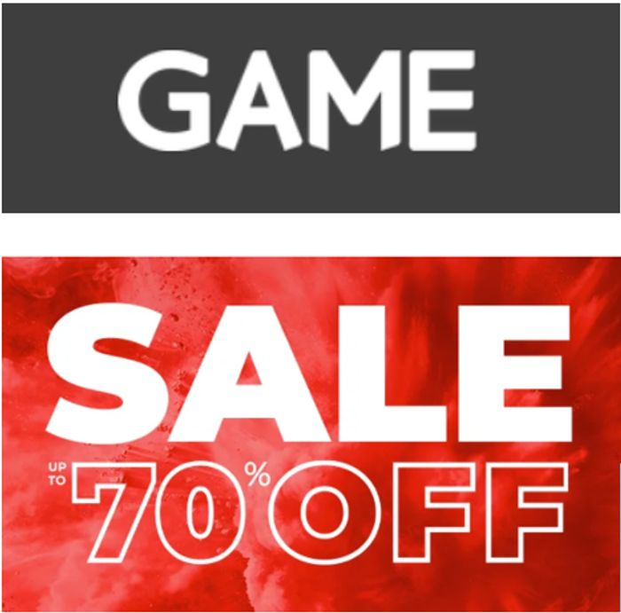 GAME - Spring Sale - up to 70% OFF
