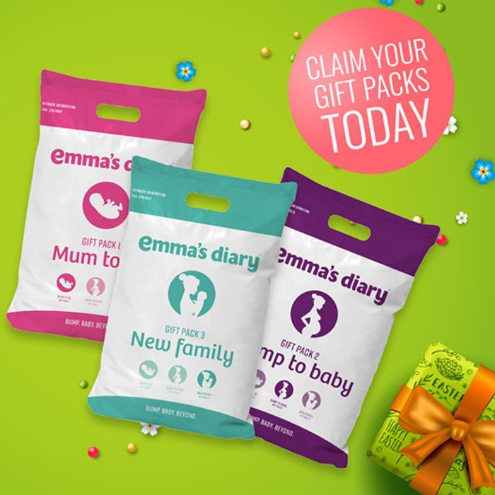 Free 4 x Emma's Diary Gift Packs