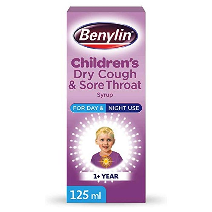 Benylin ChildrenS Dry Cough and Sore Throat Syrup, 125ml