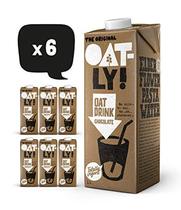 Oatly Chocolate Milk 1litre 6 Pack
