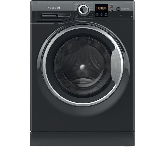Hotpoint Core NSWR 843C BS UK N 8 Kg 1400 Spin Washing Machine.FREE DELIVERY