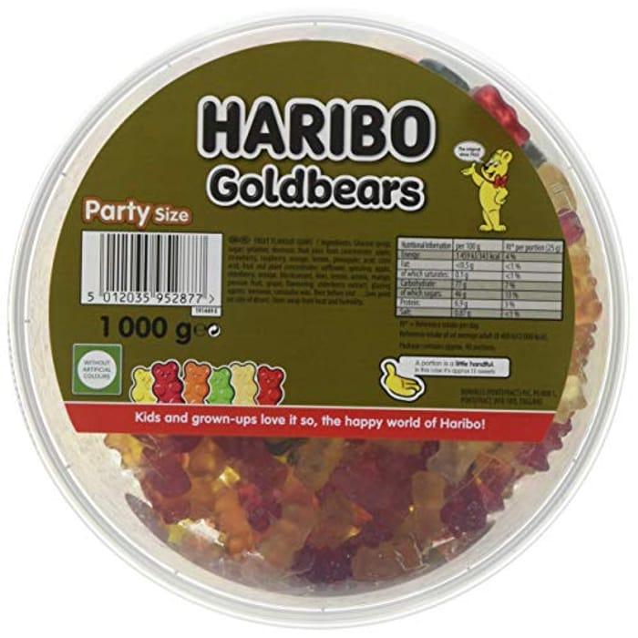 Haribo Gold Bears, Gummy Bear Bulk Sweets 4kg