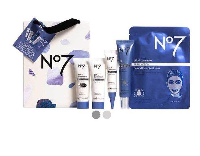 Boots No7 Lift & Luminate TRIPLE ACTION Collection - Now Only £29.60 (worth £79)